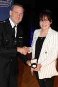 Student receiving the Jack Petchey Award