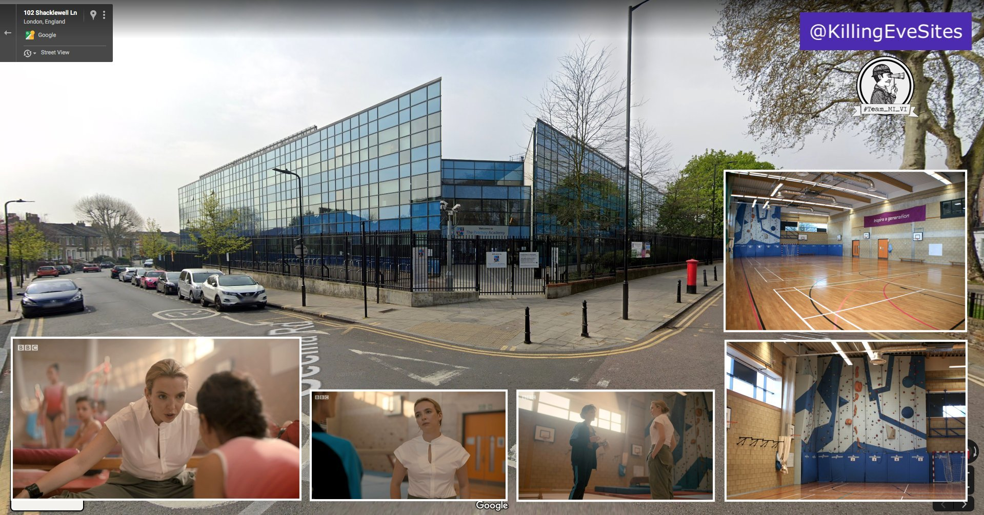 The Petchey Academy was recently used as a location for the new series of Killing Eve
